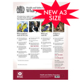 Health & Safety Law Poster - 2009 Rigid Plastic Design A3