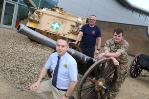Historic Field Gun Comes to Bastion House