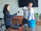BBC Radio Shropshire - Decontamination Kit Interview!