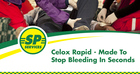 Celox Rapid - 	Made to Stop Bleeding in Seconds!