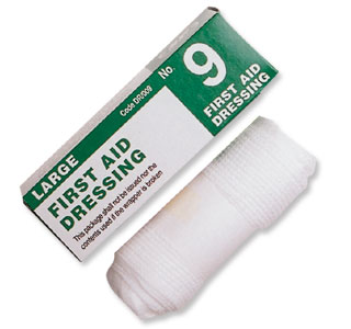 No 9 Sterile Dressing - Single