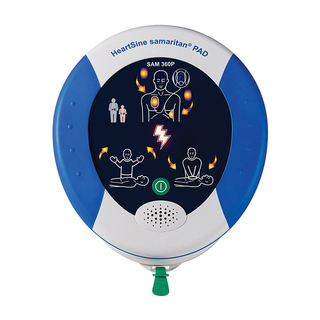 HeartSine Samaritan PAD Defib 360P Unit - Fully Automatic