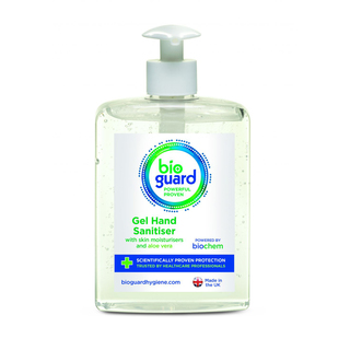 Bioguard Surgical Hand Gel - 70% Alcohol - 500ml Bottle
