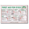 First Aid Poster - First Aid for Eyes