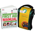 SUV Vehicle First Aid Kit in Stockholm Bag & First Aid Manual Bundle