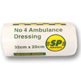 No 4 Ambulance Dressing SINGLE