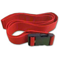 Plastic Buckle & Red Chair Strap