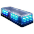 Alerte LED Magnetic Mini Lightbar - Blue