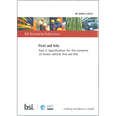 BSI BS 8599-2:2014 Vehicle First Aid Kits Contents Specification