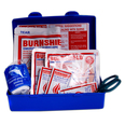 Burnshield Easy Care Burn Kit in Blue Plastic Box
