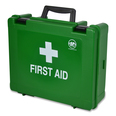 Medium Green First Aid Box - Empty