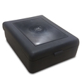 Mini Plastic First Aid Box - Black