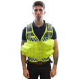 Bastion Tactical EMS 5 Pocketl Vest in Yellow/Green