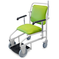 Hospital Portering Chair with Green Material