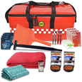 DELUXE Winter Car Survival Kit - Red Emergency Holdall
