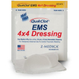 QuikClot EMS 4x4 Haemostatic Dressing - Box of 3