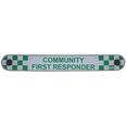 Extra Long Window Panel - Community First Responder