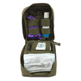 Stay Safe Individual PPE Kit in Sandstone Pouch