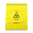 Yellow Clinical Waste Bag - Pack Of 50