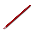 Red Wax Pencil